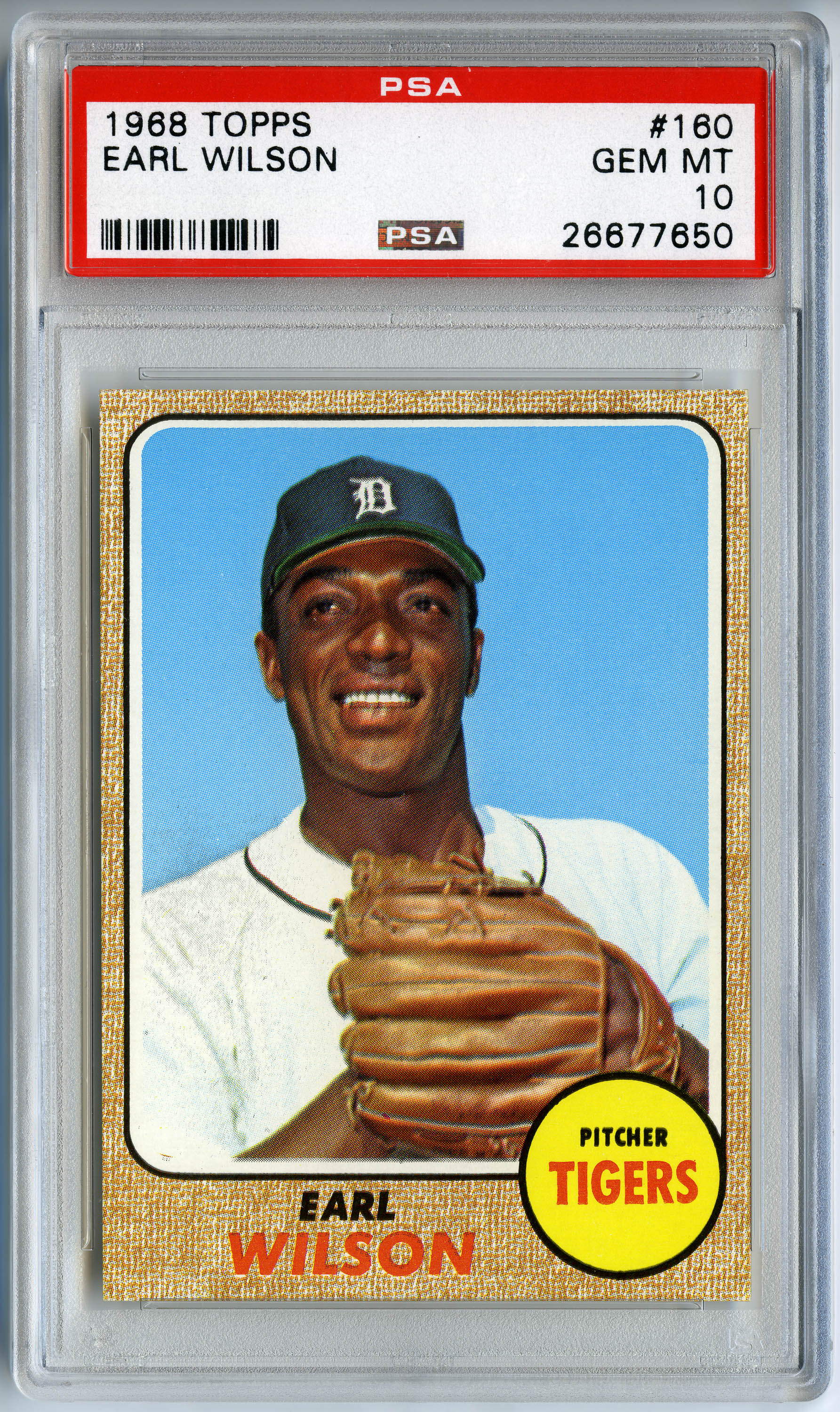 Topps Chewing Gum Inc American Established 1938 Earl Wilson