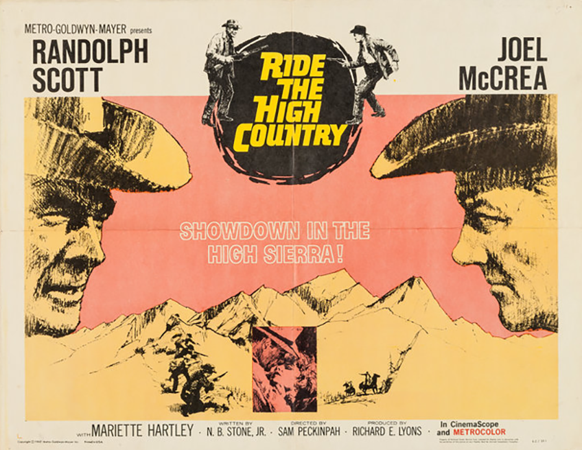 Image result for ride the high country poster