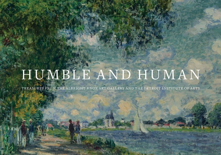 Humble and Human exhibition catalog cover art