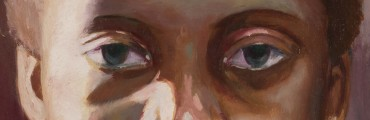"""""""The Child (Day),"""" 2007, Tylonn J. Sawyer, American; oil on panel. From the collection of Lorna Thomas, M.D."""