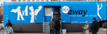 DIA Away trailer in the community
