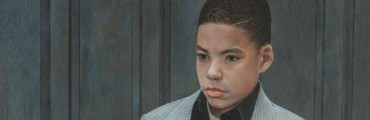 """""""Little Paul,"""" 1995, Robert L. Tomlin, American; egg tempera. P. Henry and P. Taylor Collection."""