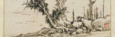 """""""The First Prose Poem on the Red Cliff,"""" 1558, Wen Zhengming, ink on paper. Detroit Institute of Arts"""