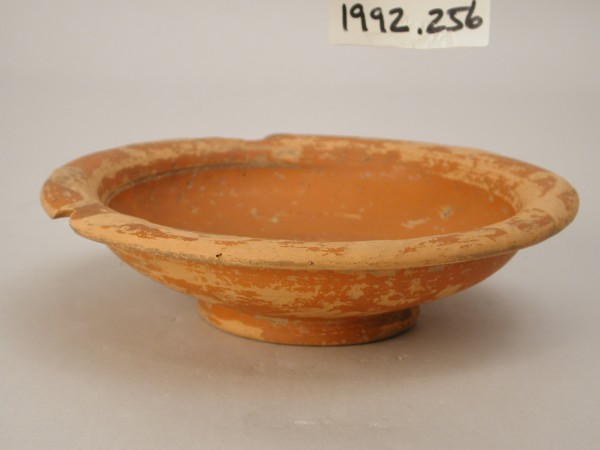 Roman, Dish, late 2nd century CE, clay. Detroit Institute of Arts, City of Detroit Purchase, 1904, 1992.256.