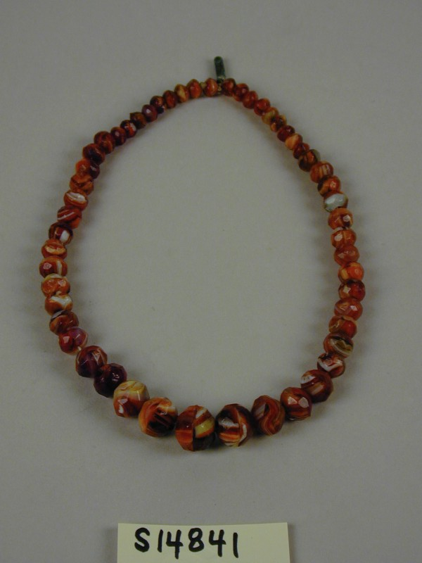 Unknown, Necklace, no date, glass beads. Detroit Institute of Arts, Gift of Frederick Stearns, 90.1S14841.
