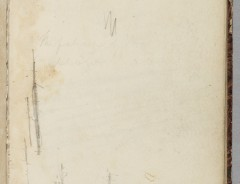 Thomas Cole, (Untitled), 1828, Graphite pencil on off-white wove paper. Detroit Institute of Arts.