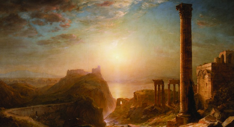 Frederic Edwin Church, Syria by the Sea, 1873, oil on canvas. Gift of Mrs. James F. Joy.
