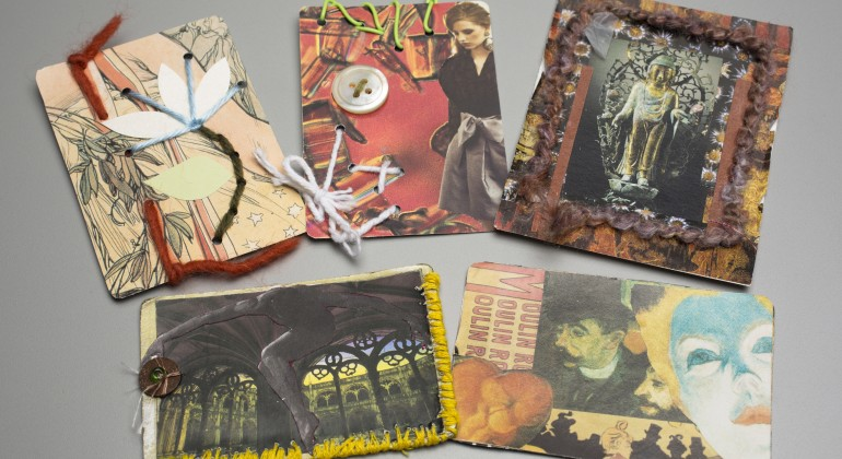 Artist Trading Cards, Drop-In Workshop activity
