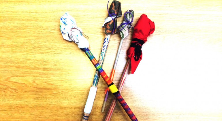 Decorated Drumsticks