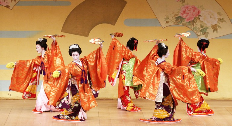 Japanese Kikuno-kai Dance Troupe