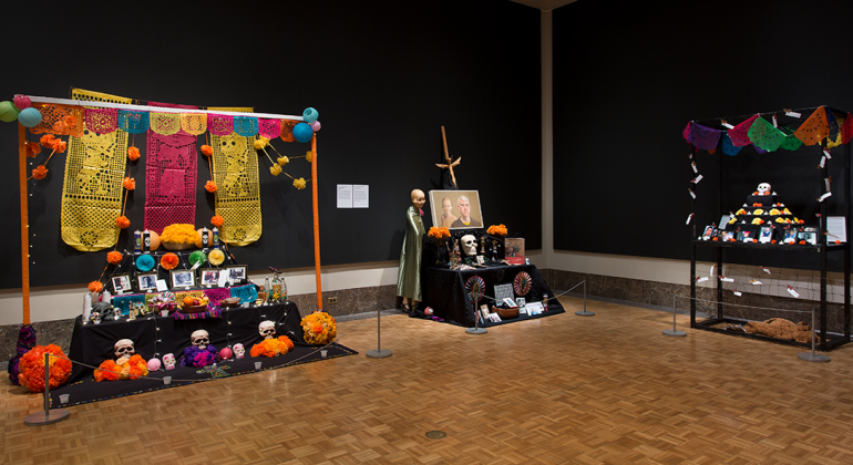 A section of the 2019 Ofrendas exhibition