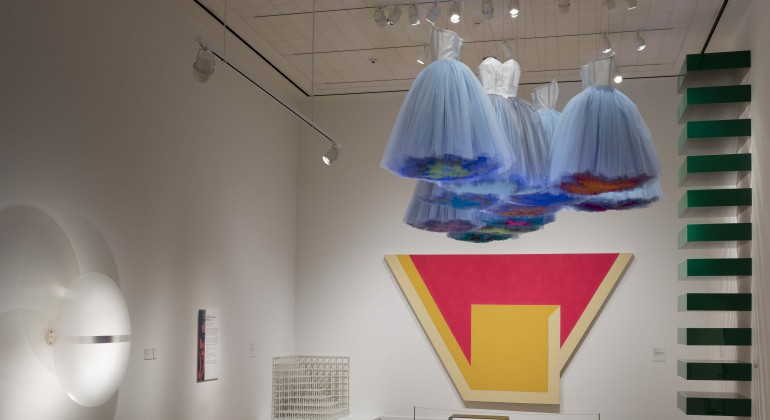 """Synthetic Cloud"", 2018, Isabel Toledo, Cuban-American (born 1960) and Ruben Toledo, Cuban-American (born 1961); Nylon. Courtesy of the artists and the Toledo Studio"