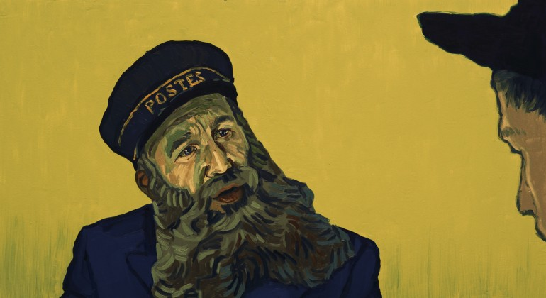 Postman Roulin as seen in Loving Vincent