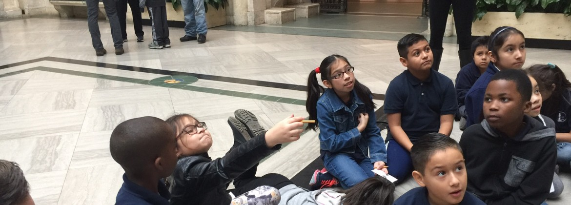Teacher-led field trips at the DIA