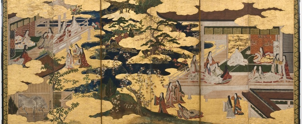 "Scene from ""The Tale of Genji"": from the chapter ""The Maiden"", between 1650 and 1700"