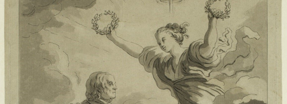 Dr. Franklin Crowned by Liberty