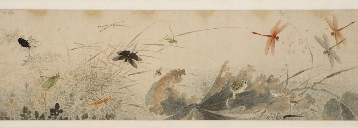 """""""Early Autumn,"""" late 1200s–1300s, signed Qian Xuan, Ink and watercolor on paper. Detroit Institute of Arts"""