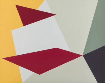 Felrath Hines (American, 1913–93). Alarm, 1985. Oil on linen; 52 × 64 in. (132.1 × 162.6 cm). Gift of the artist's wife, 2009.47.