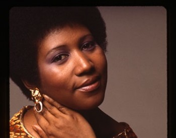 Photo portrait of Aretha Franklin in the 1970's