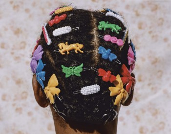 Micaiah Carter, Adeline in Barrettes, 2018