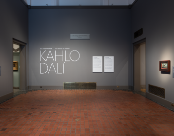 "Gallery view of the exhibition ""Guest of Honor: Frida Kahlo and Salvador Dali"""