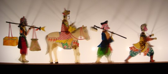 Taiwanese Shadow Puppet Performance