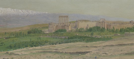 Baalbek by Frederic Church