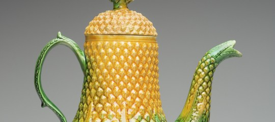 Pineapple Coffeepot, English