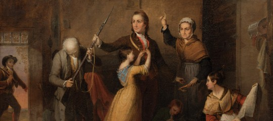 """Spirit of '76,"" 1845, Tompkins H. Matteson, oil on canvas. Museum Purchase, Robert H. Tannahill Foundation Fund"