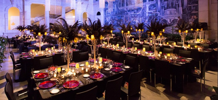 A formal event at DIA