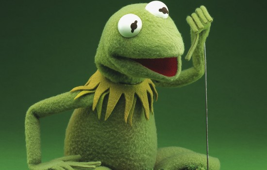 Jim Henson original Kermit the Frog from 1969