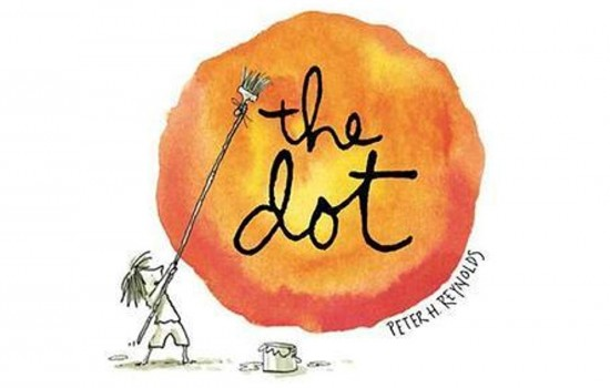 Book cover for The Dot by Peter H. Reynolds