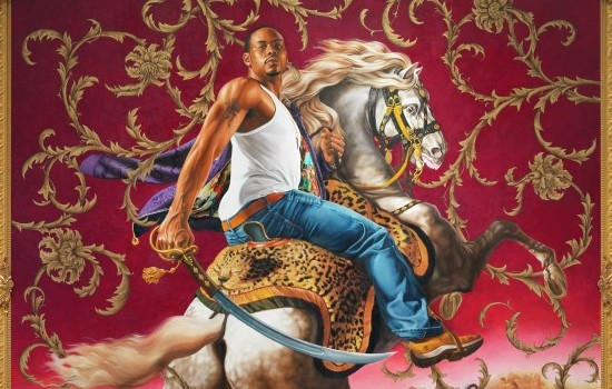 Kehinde Wiley Officer of the Hussars