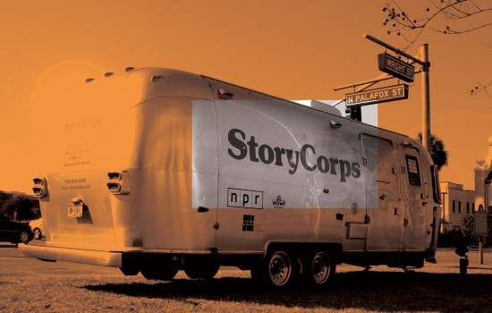 Story Corps at the Detroit Institute of Arts