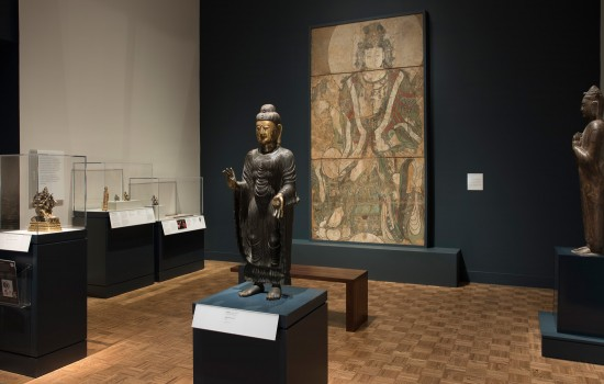 Buddhist gallery in the Robert and Katherine Jacobs Asian Wing