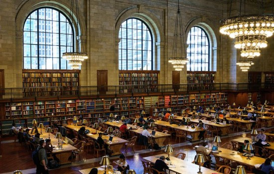 A scene from Ex Libris: The New York Public Library directed by Frederick Wiseman