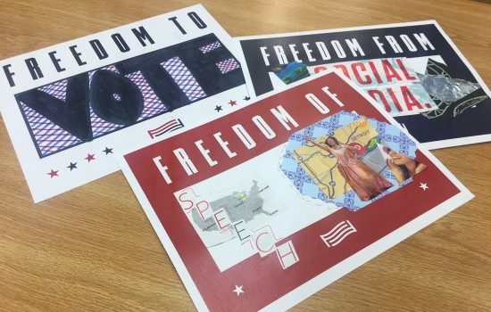 Drop-In Workshop: For Freedoms -  Signs and Posters