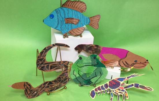 Great Lakes Wildlife Puppets