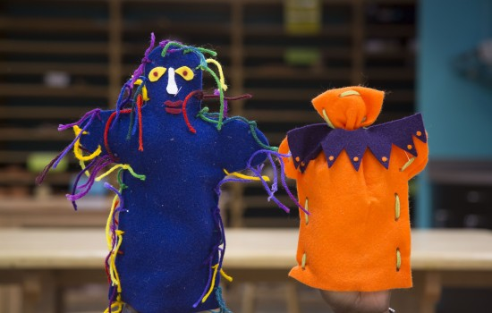 Drop-In Workshop: Hand Puppets