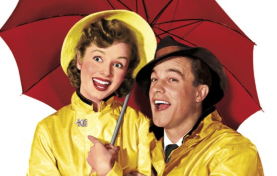 A still from Singing in the Rain