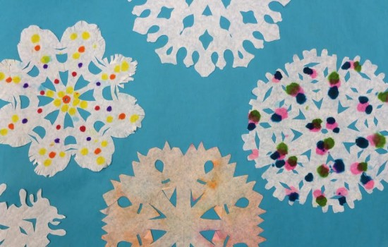 Drop-In Workshop: Snowflakes