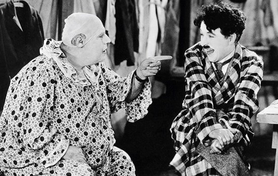 A still from the film The Circus