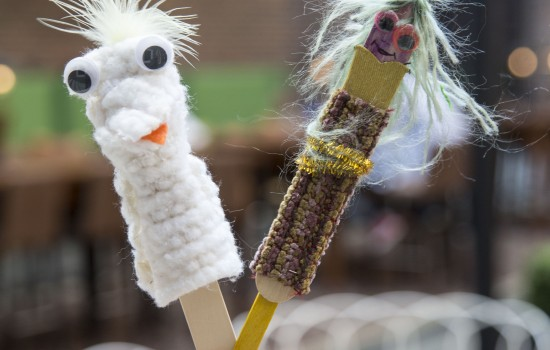 Drop-In Workshop: Tongue Depressor Puppets