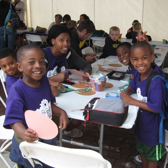 Drop-In Workshop at the African World Festival