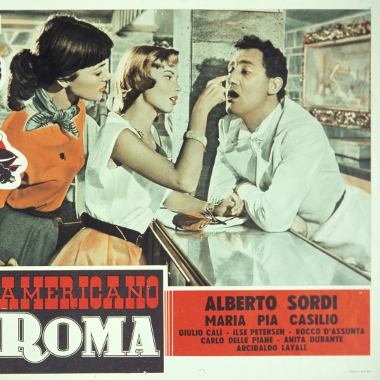 A scene from An American in Rome