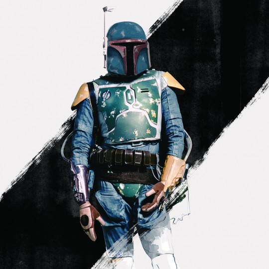 Boba Fett, illustration, Star Wars and the Power of Costume