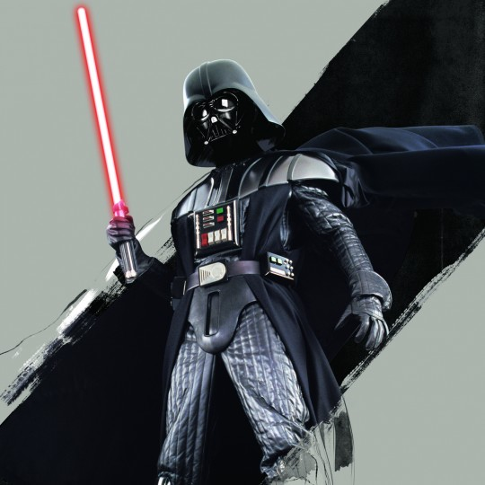 Darth Vader, illustration, Star Wars and the Power of Costume