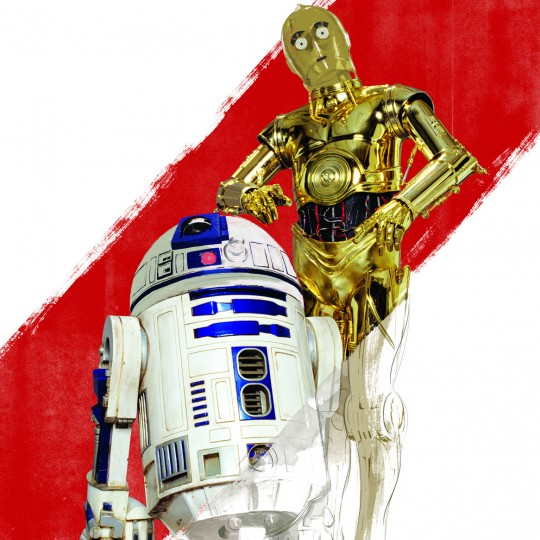 Droids, illustration, Star Wars and the Power of Costume