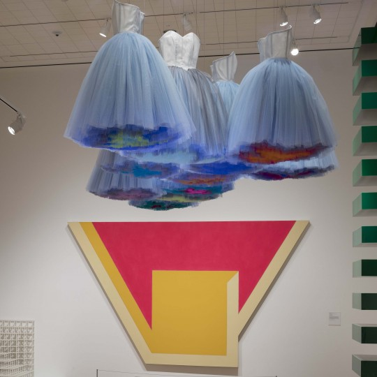 """""""Synthetic Cloud"""", 2018, Isabel Toledo, Cuban-American (born 1960) and Ruben Toledo, Cuban-American (born 1961); Nylon. Courtesy of the artists and the Toledo Studio"""