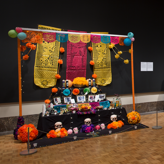 Three Ofrendas from the 2019 exhibition